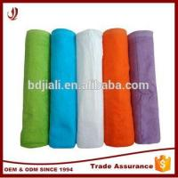 Wholesale Factory Supplies Solid Color Cotton Stock Large Bath Towels from china suppliers