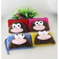 Coin purse/wallet 2014 promotion fur face coin purses wholesale