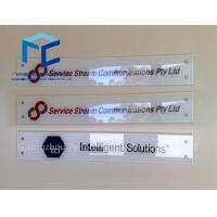Buy cheap Acrylic Signs Display for building from Wholesalers