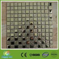 Recommend Mosaic luxurious The gold and silver Electroplating Mosaic