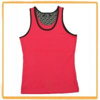 Wholesale Ladies Cotton Tank Top Vest 005 from china suppliers