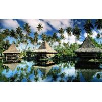 China Prefab Prefabricated Bali Bungalow , Tahiti Overwater Bungalows For Resort Maldives on sale