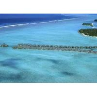 China Belize / Maldives Overwater Bungalow With Light Steel , Over The Water Bungalows on sale