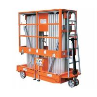 Buy cheap Double Aluminum Alloy Mast Lifts from Wholesalers
