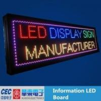 Buy cheap Full Color led scrolling display from Wholesalers