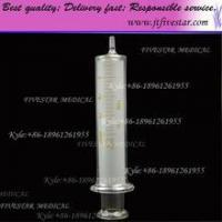 Small scale glass tip syringes 20ml. Glass Syringe With Glass Luer Slip Tip