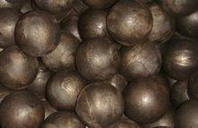 Quality heat treated 65Mn hot rolled steel grinding balls for sale