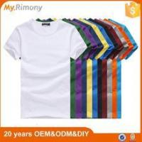 Wholesale Sublimation Custom Printing Logo Blank T Shirt from china suppliers