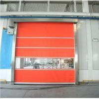 China Rapid Automatic Roll Up Door , Industrial High Speed Door For Warehouse on sale
