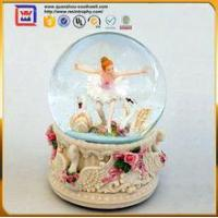Wholesale memorial souvenirs ballet dancer snow globe for home decor from china suppliers