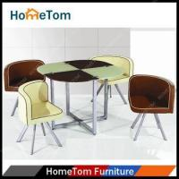Wholesale Dining Table High Quality Modern Round Glass Table on Sale from china suppliers