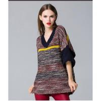 Wholesale loose pullover knitted sweater from china suppliers