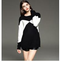 Wholesale loose pullover knitted sweater for ladies from china suppliers