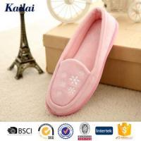 Wholesale Dance Shoes Suede Fabric Embroidery Dance Shoes from china suppliers