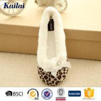 Wholesale Dance Shoes Suede Fabric Printed Dance Shoes from china suppliers