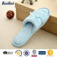 Wholesale Slippers Coral Fleece Bowknot Open Toe Slipper from china suppliers