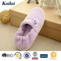 Wholesale Casual Shoes Coral Fleece Flower Warm Shoes from china suppliers