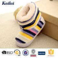 Wholesale Baby Shoes Cashmere Bowknot Child Shoes from china suppliers