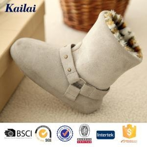 Quality Baby Shoes Suede Fabric Chindren Shoes for sale