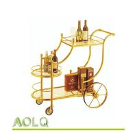 Wholesale hotel lobby supplies FC-116 LIQUOR TROLLEY from china suppliers