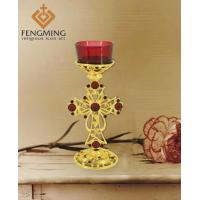 Wholesale metal wall candle holder Stand Metal Candle Holder Greek Orthodox Gifts from china suppliers