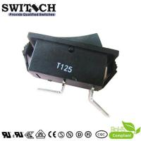 Wholesale R11-51SW1BB good quality paddle switch SPST 2 pins T125 rocker switch from china suppliers