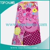 Wholesale peppa pig beach towel bt0124 from china suppliers