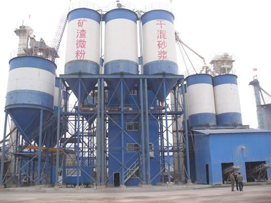 Quality Dry Mortar Production Line GJ40 Dry mortar mixing plant for sale