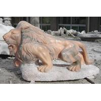 Wholesale Marble tiger animal sculpture high quality from china suppliers
