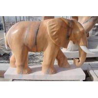 Wholesale Animal Elephant Marble Sculpture With High Quality from china suppliers