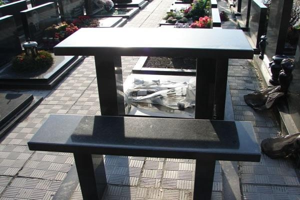 China Granite table countertop for tombstones