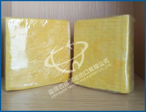 Glass wool board thermal insulation glass wool of zibobadr for Glass fiber board insulation