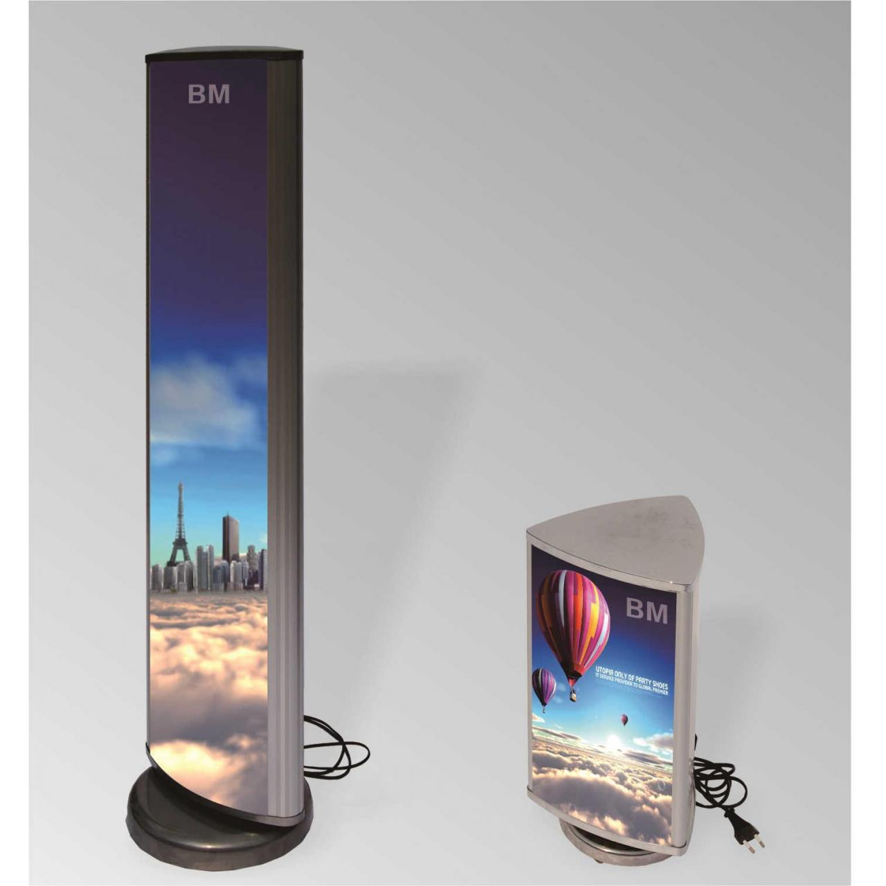 Poster stand Light box