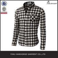 Wholesale Men black check new design shirts from china suppliers