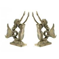 Cast Iron Mermaid Bookends