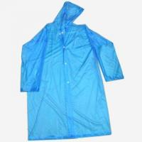Buy cheap Blue adult PVC Raincoat from Wholesalers