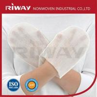 Wholesale Best Price Unique Design Disposable Nonwoven Body Wash Glove from china suppliers