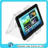 Wholesale double sides acrylic laptop holder clear acrylic PAD riser from china suppliers