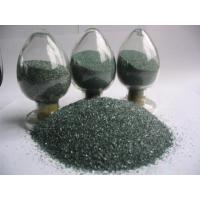 China Green silicon carbide graded sand on sale