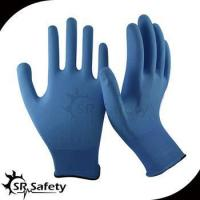Wholesale 13 gauge knitted nylon liner coated water-based PU on palm gloves from china suppliers