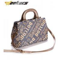 Wholesale brand designer canvas handbags, Multi-compartment shoulder bag for women, cheap canvas bag from china suppliers