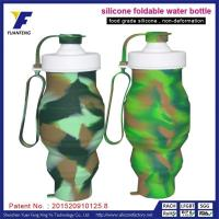 Food Grade Silicone Bulk Water Bottles Custom Diy Water Bottle Labels With Company LOGO