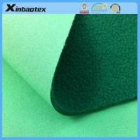 100% poly apparel fabric laminated with fleece for outdoor sportswear, laminated fabric