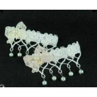 Wholesale Lolita Long Coats Sweet White Lace Bows Beads Hairpin from china suppliers