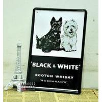 Wholesale custom dog metal tin sign from china suppliers