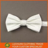 Wholesale Custom Made Wholesale Men White Bow Tie from china suppliers