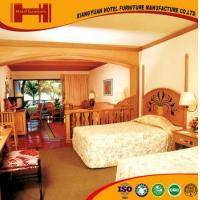 OEM outsourcing Standard Room solid wood mirrored model hotel furniture bedroom