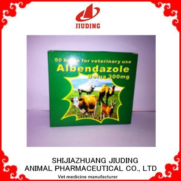 Albendazole tablets 300mg for veterinary of item 44834360