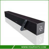 Buy cheap Wooden housing sound bar bluetooth for tv with built in bass system from Wholesalers