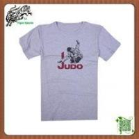Wholesale Custom made martial arts judo T shirt from china suppliers